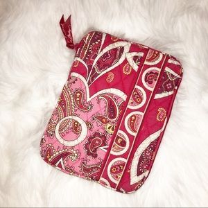 Vera bradley paisley red pink mini ipad case